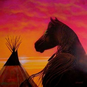 The Lakota War Horse