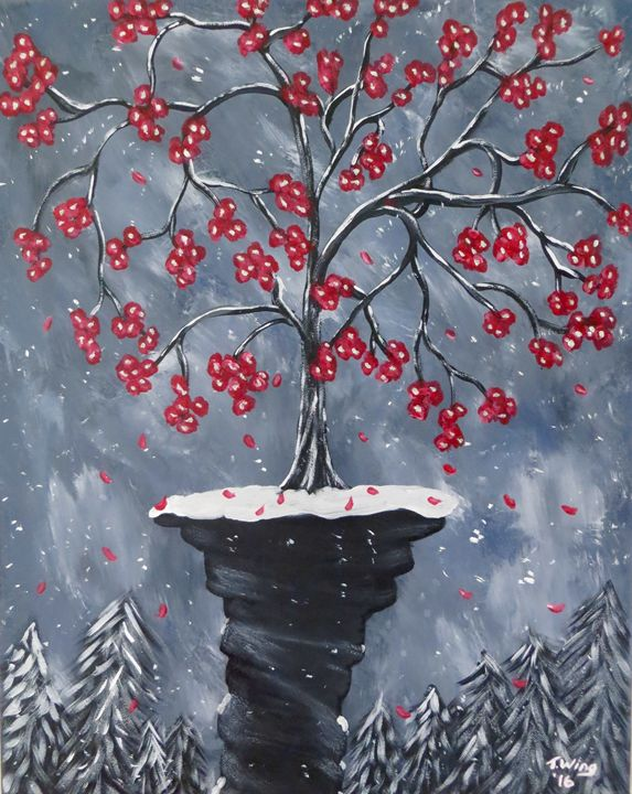 Winter Blossoms - Teresa Wing
