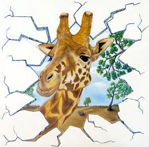 Gazing Giraffe