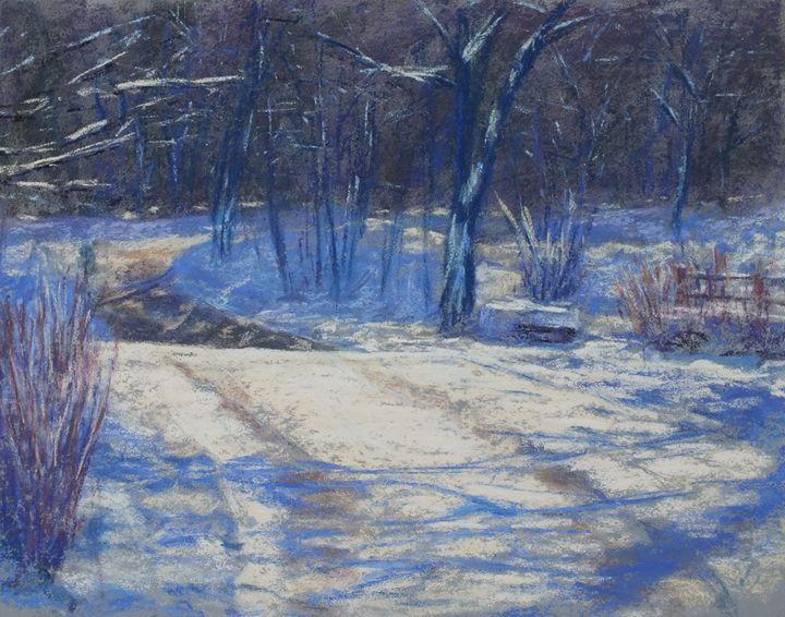 Golden Run, Bolton - Linee Pastels Fine Art