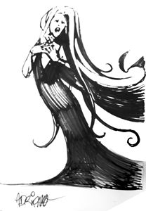 Burlesque Opera Singer