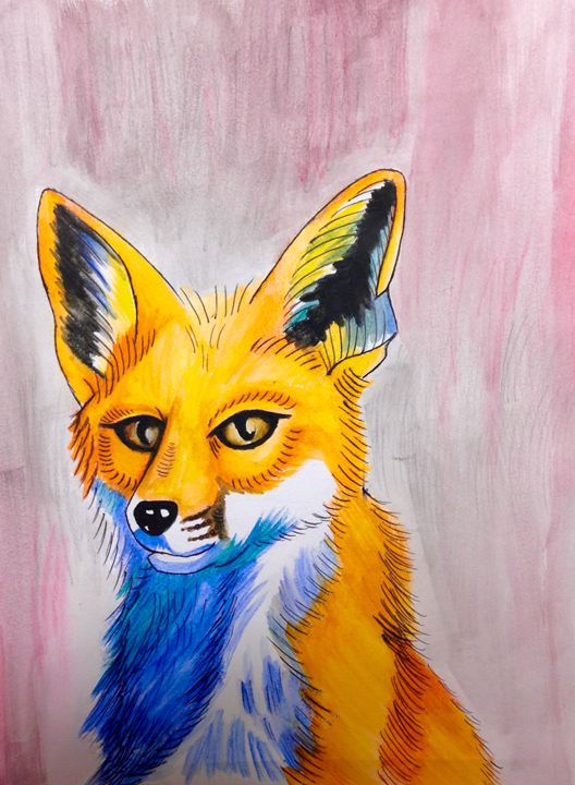 What does the fox say? - Eyeliner