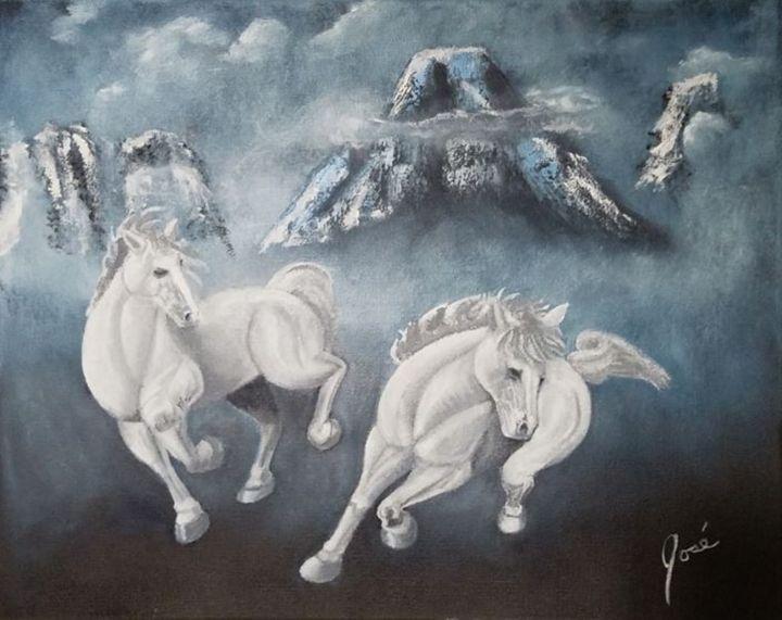 White Horse Mountain - Jose Torres