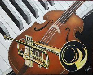New Orleans Jazz -original sold