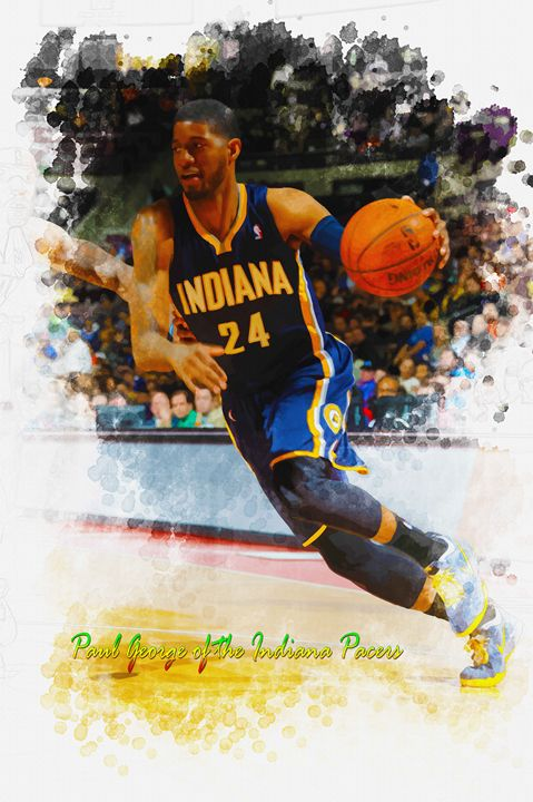Paul George of the Indiana Pacers - DonDigitalStudio