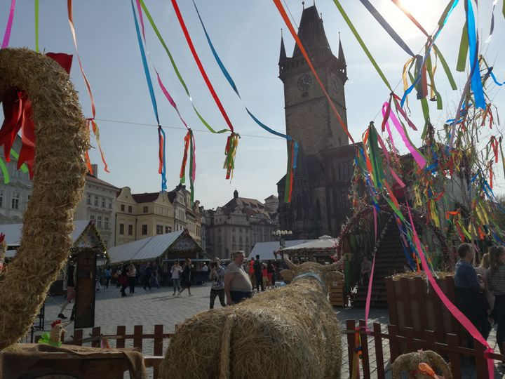 Old town square easter markets - Danciatko