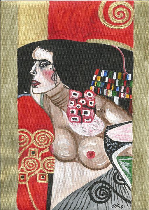 Klimt woman - Danciatko