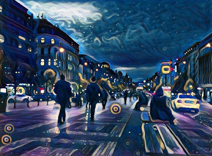 Starry night - Danciatko