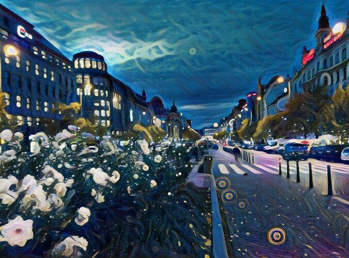 Starry night 2 - Danciatko
