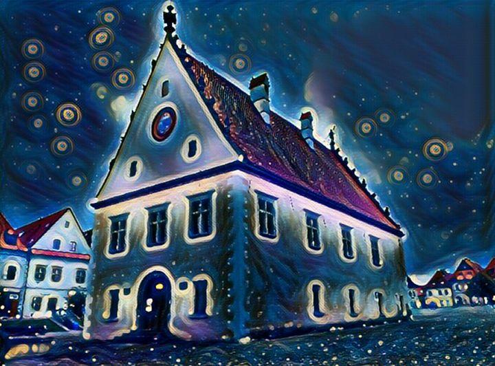 Starry night in town - Danciatko