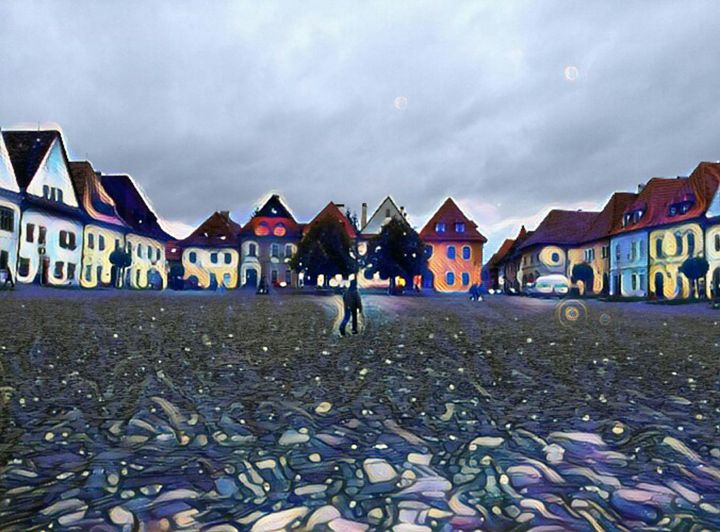 Square Bardejov SVK - Danciatko