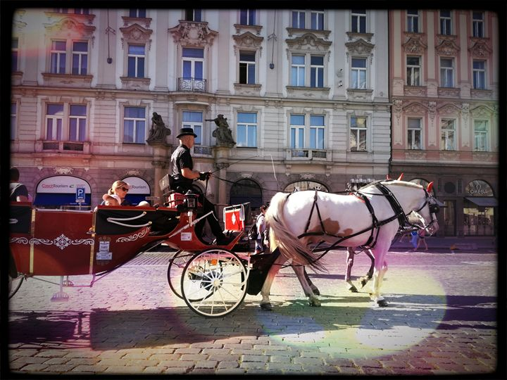 Carriage with horses - Danciatko
