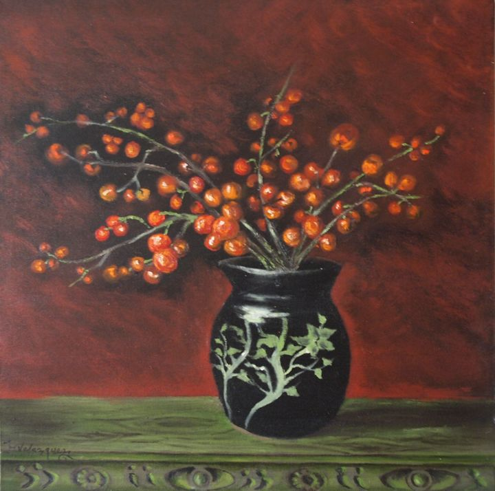 Red Cerezas - Artist Monolo Velazquez