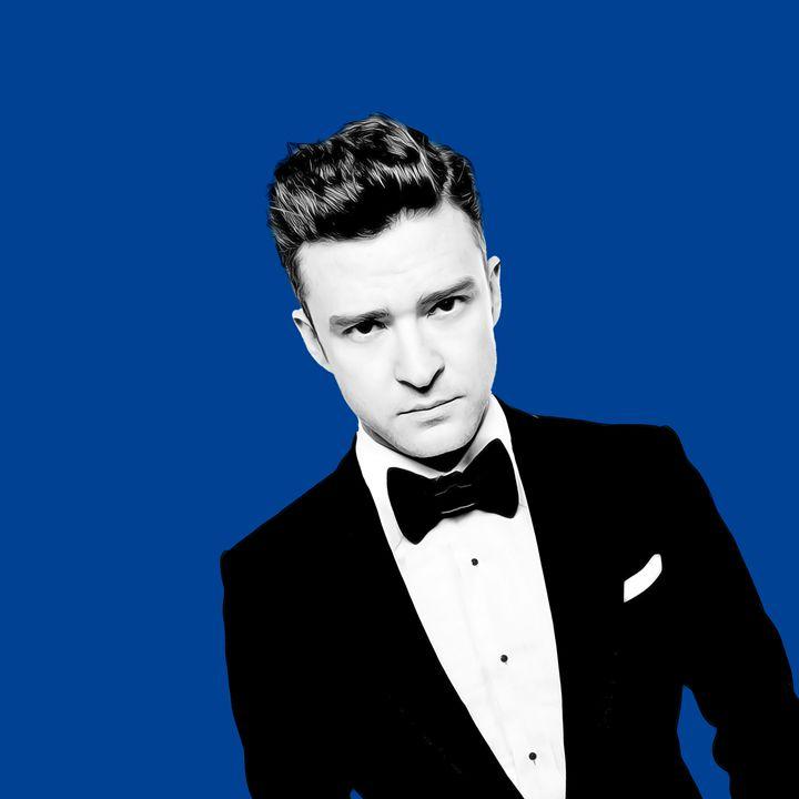 Justin Timberlake - Celebrity - Oil Paint Art