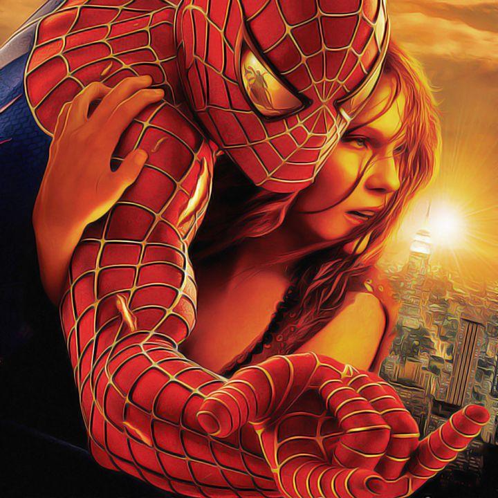 Spider Man - Oil Paint Art - Oil Paint Art