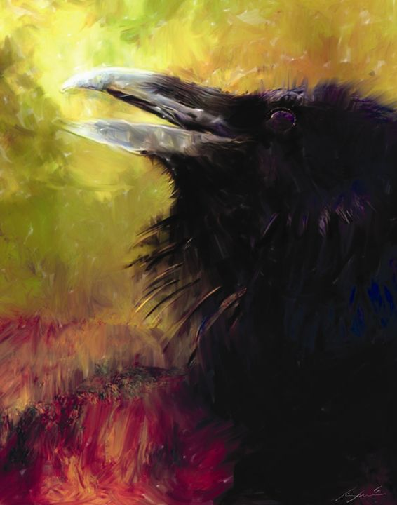 Crows Breathe - Digital Images Gallery