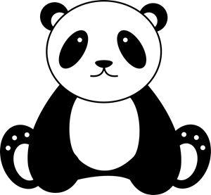 Cute Panda - Clyde C