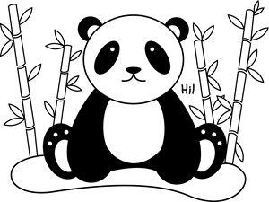 Hi, I'm a Panda - Clyde C