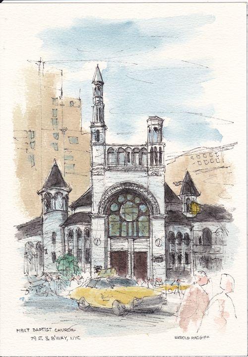 First Baptist Church - Harold Radgiff