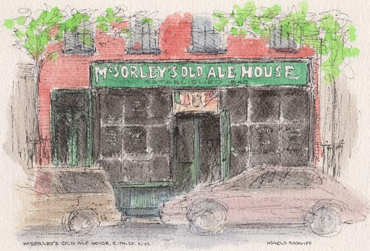 McSorley's Old Ale House - Harold Radgiff