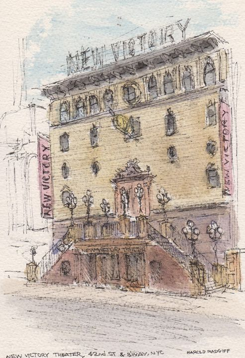 New Victory Theater - Harold Radgiff