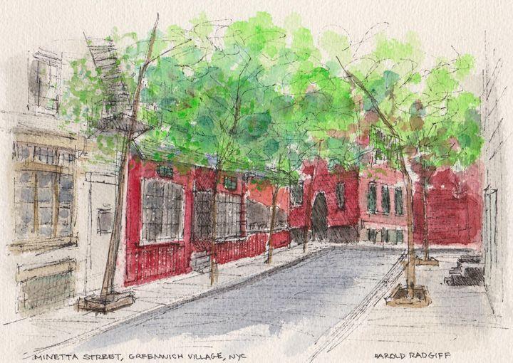 Minetta Street - Harold Radgiff