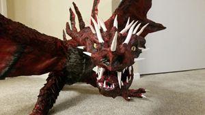 Red dragon  predator