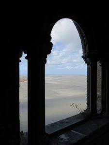 Mont-Saint-Michel, Beach Low Tide