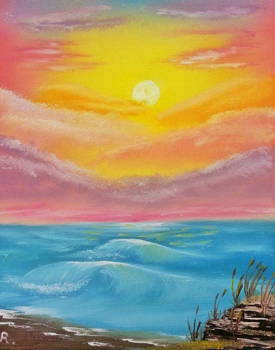 Florida Sunset - Art by Ray Ray
