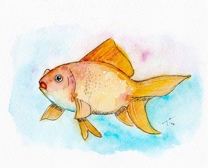Goldfish (prints) - Tory Andrew Hurtado