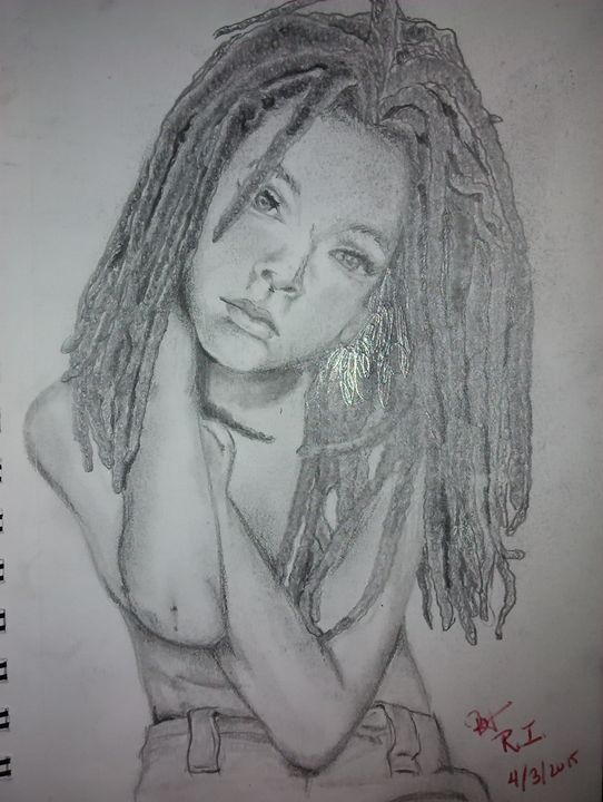 young dreads - Rebekah M. Isreal