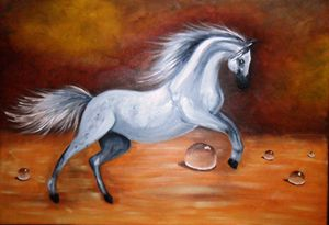 The Wild White Horse