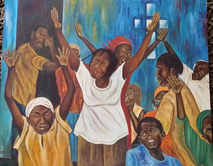 Holy Spirit - Art by L.Mason