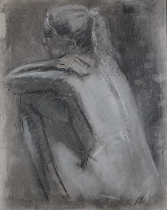 Illustrative charcoal - Berto Ortega