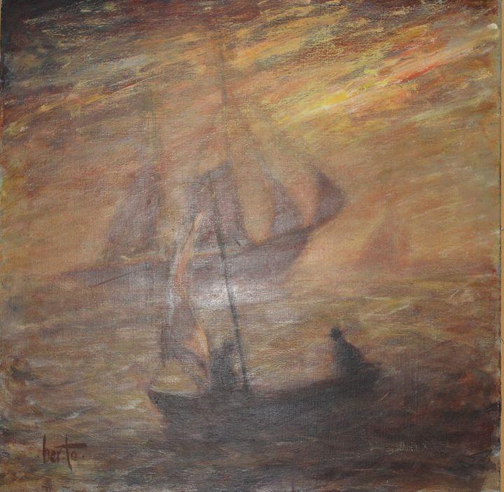 Troubled Seas - Berto Ortega