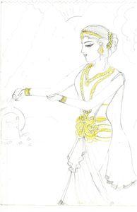 sketching of parvati ma