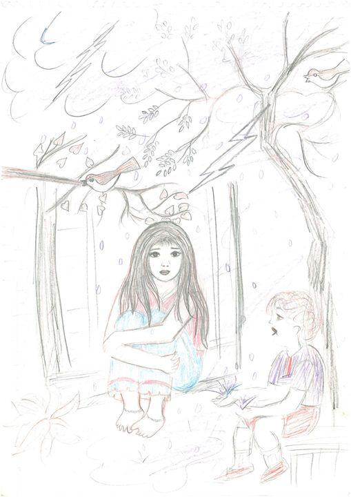 sketching/drwaing - Engineer Mansi tiwari