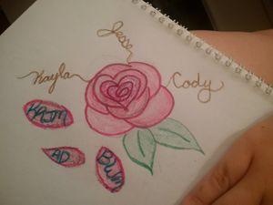 Rose tattoo sample