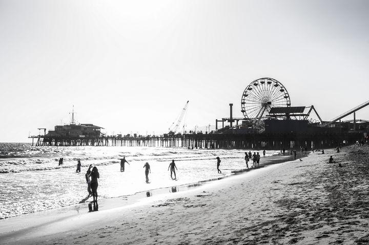 California Pier - No good at photography