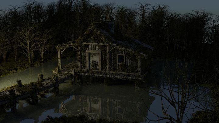 Swamp House - T. Gossler Digital Art