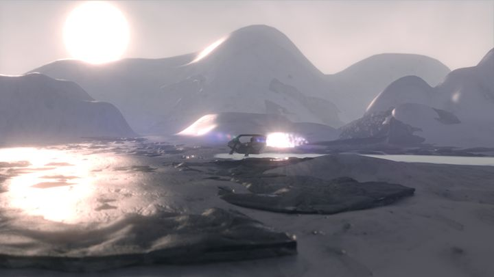 Ice Desert - T. Gossler Digital Art