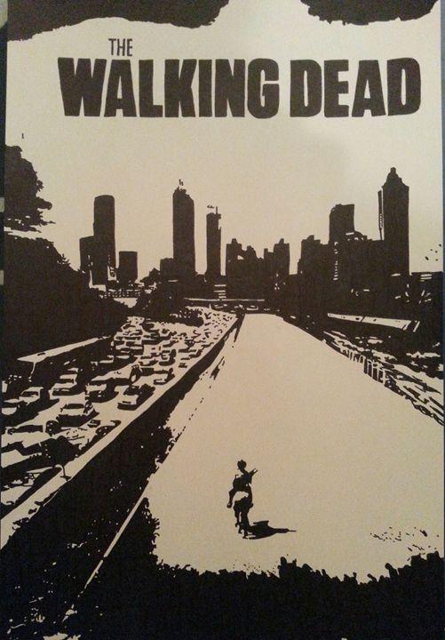 The Walking Dead Season 1 Poster - Nick Pagano