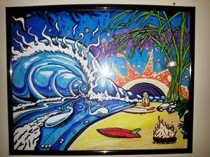 Drew Brophy Surf Art