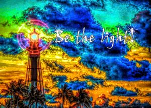 Be the light! - Great Dane