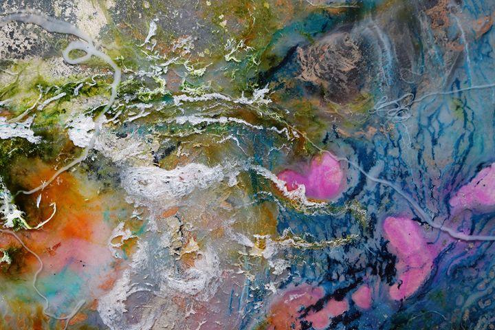 Cosmic 4 - Peter De Meyer Epoxy Art