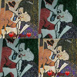 Macaroni Card / Joker loves Harley Q