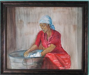 The Washer Woman