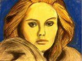 Adele in pastel