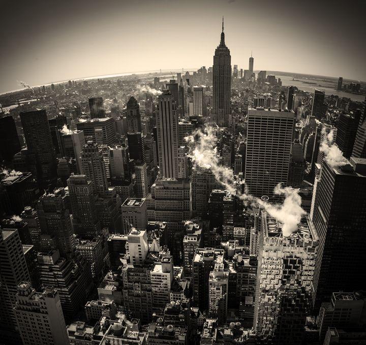 New York City Skyline - Si Glogiewicz Photography