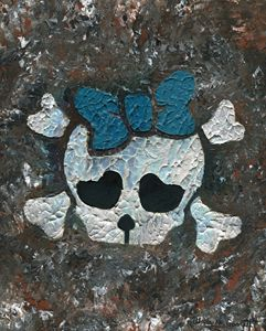 Cute Girl Skull